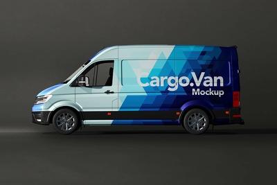 Create vehicle wrap advertising design (car/truck/van)
