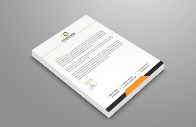 Do professional letterhead design within 24 hours