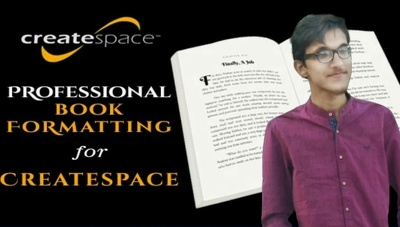 Expert Createspace Formatting Kindle Ebook Book Formatting