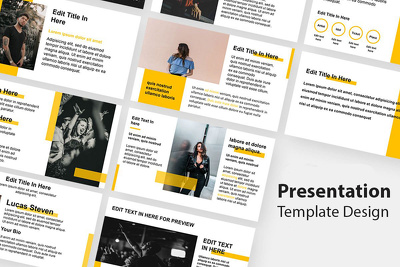 I can do powerpoint presentation template design