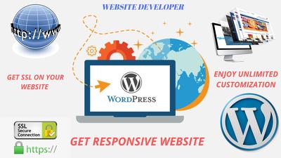 Create a website as per your recquirements