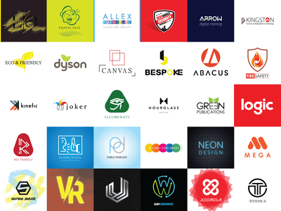 Design your logo with (3 initial concepts)