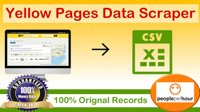Scrap yellow pages to get email lists, number, address and more