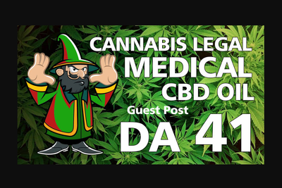 Guest post cannabis, marijuana, cbd oil related article on da 41