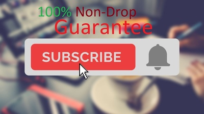 1000+ Non-drop & Genuine  Youtube Subscriber for your channel