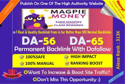 Guest Post On Moneymagpie Moneymagpie.com DA 56 Dofollow link