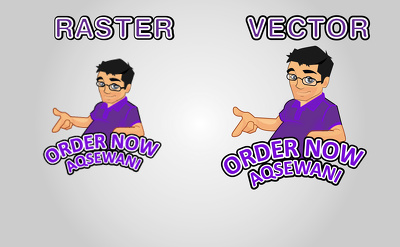 Convert your raster logo into vector