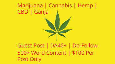 Guest Post On Marijuana | CBD | Hemp | Cannabis | Vaping Sites