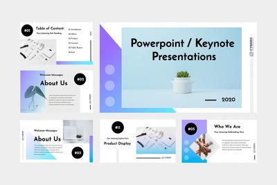 Design a professional powerpoint/keynote presentation