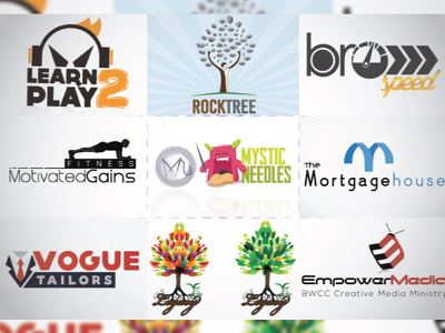 Design a logo for your name company brand event or anything