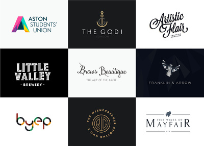 Design your logo with up to 3 rounds of revisions