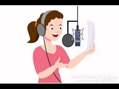Recored 50 words arabic female voice over