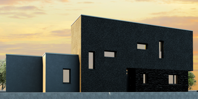 Build the 3D model from your floor plans and elevations