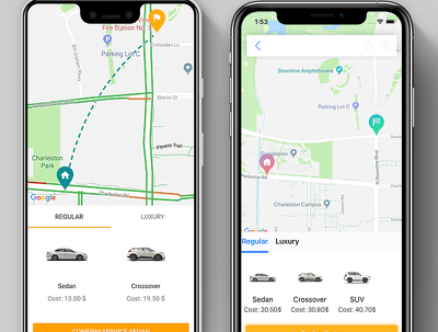 Develop Taxi Booking Android & iOS Solution plus dashboard