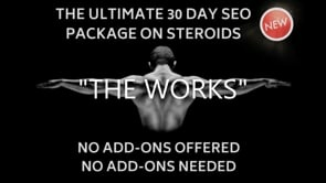 """THE WORKS"" White Hat Drip Feed 30 Day SEO Campaign"