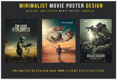 Design a brilliant and perfect movie poster