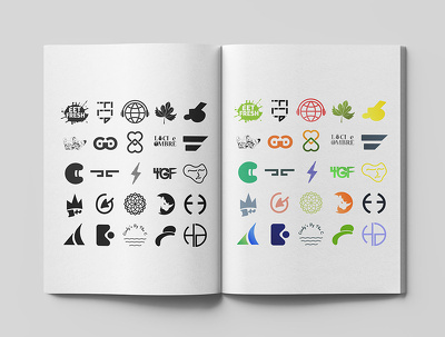 Do minimalist modern logo design