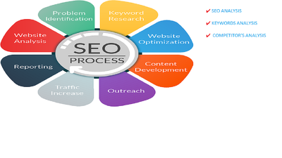 Provide detailed website SEO analysis report with action plan