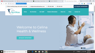 Build a medical website for you