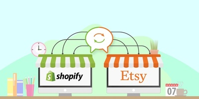 Integrate Etsy store in custom Shopify App