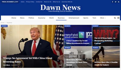 Publish A Guest Post in Site DawnNews.co.uk
