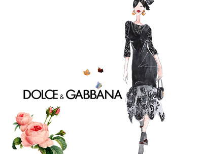 Draw fashion illustration for your company