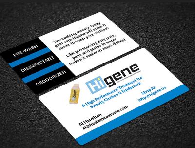Create 2 luxury business card designs or letterhead