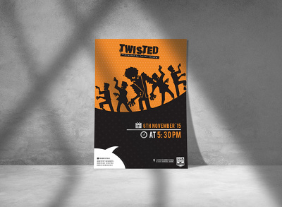 Make professional flyers/brochures and posters for you.