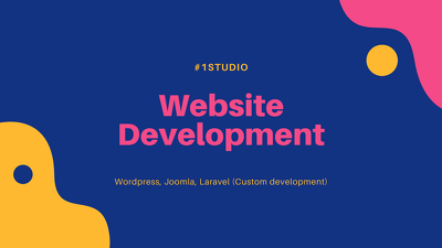 Develop professional website with ecommerce store