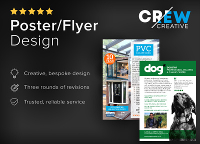 Design your leaflet/flyer/poster