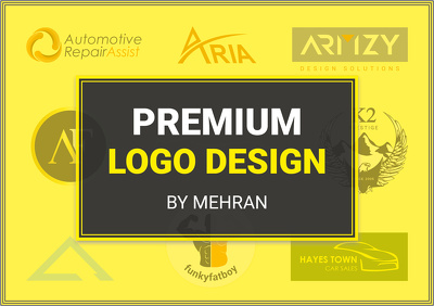 Design Premium Logo with Revisions & Source Files