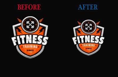 Do vectorize your image or logo or anything