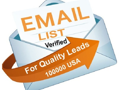 Email List 100K Verified Lead Lists - UK - USA - Canada