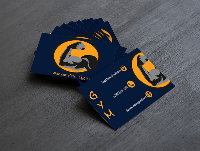 Design your business card 2 face for you ready for priting