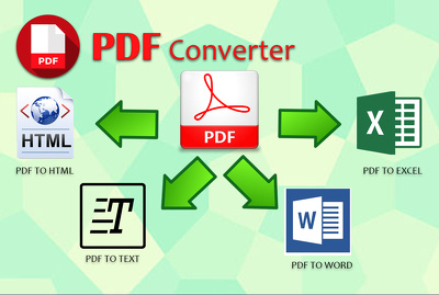 Convert PDF to any file format..
