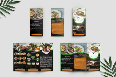 Do Clean Tri Fold Brochure Design