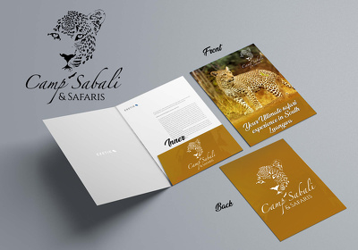 Do Professional Print ready Folder design