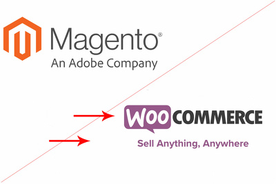 Migrate product and pages from Magento to WooCommerce
