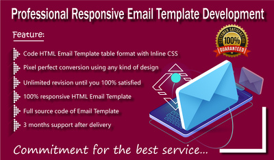 Create Professional Responsive Email Template