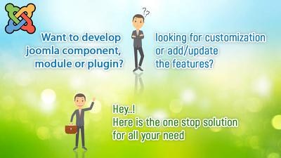 Make joomla custom component, module and plugin