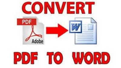 Convert PDF files to word documents ($5 for 5 pages)