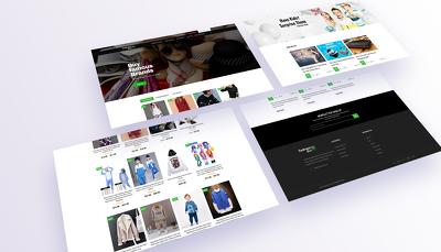 Build e-commerce website or online store using wordpress