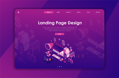 Design a responsive WordPress landing page or squeeze page