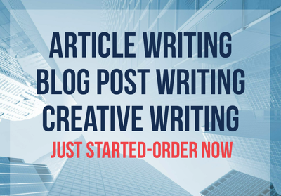 Do Article Writing & Blog Post Writing of 1000+ words