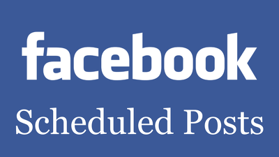 Facebook page Scheduled Posts your text, photo, video for 5 days