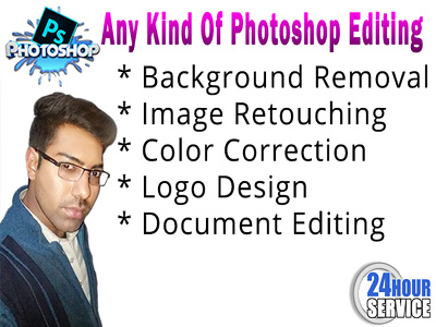 Photoshop editing background removal of 100 images superfast