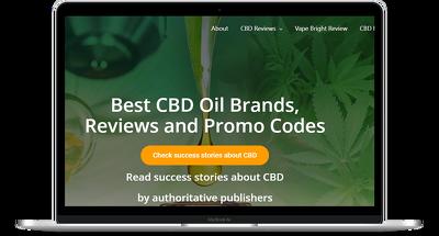 design and develop fully responsive cbd hemp medical website