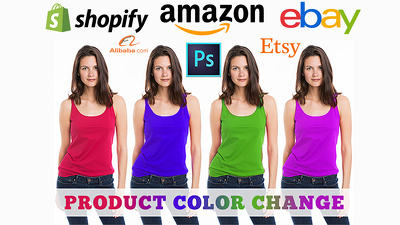 Change color, color correction your product photos
