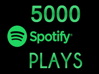 Add more than 5000+ plays to your song on spotify