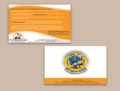 design an eye catching business card
